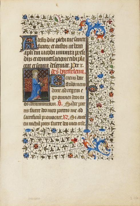 Dunois Master, Bedford Master~Saint - Old master
