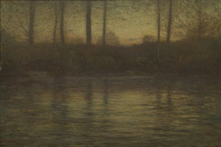 Dwight William Tryon~The Evening Sta - Old master