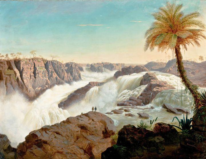 E.F.Schute~Paulo Afonso Waterfall - Old master