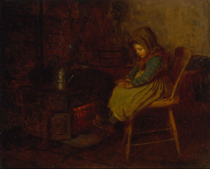Eastman Johnson~Home and Warmth - Old master