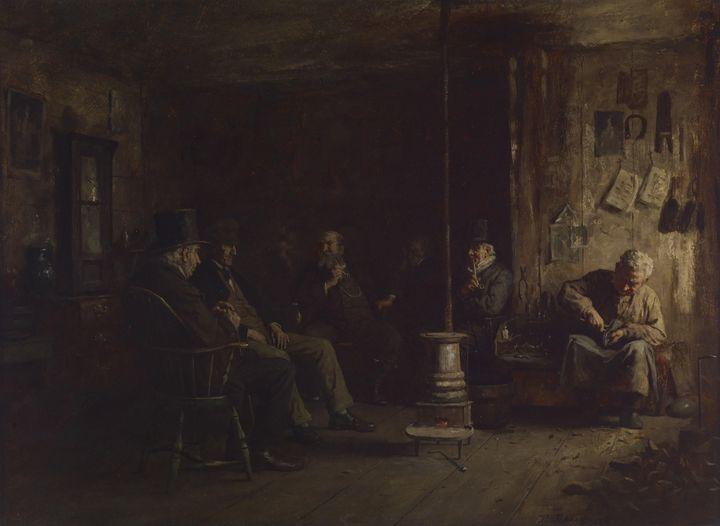 Eastman Johnson~The Nantucket School - Old master
