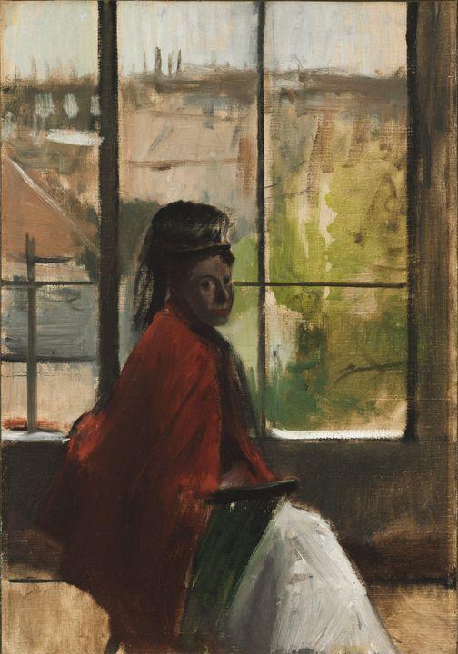 Edgar Degas~Alice Villette - Old master