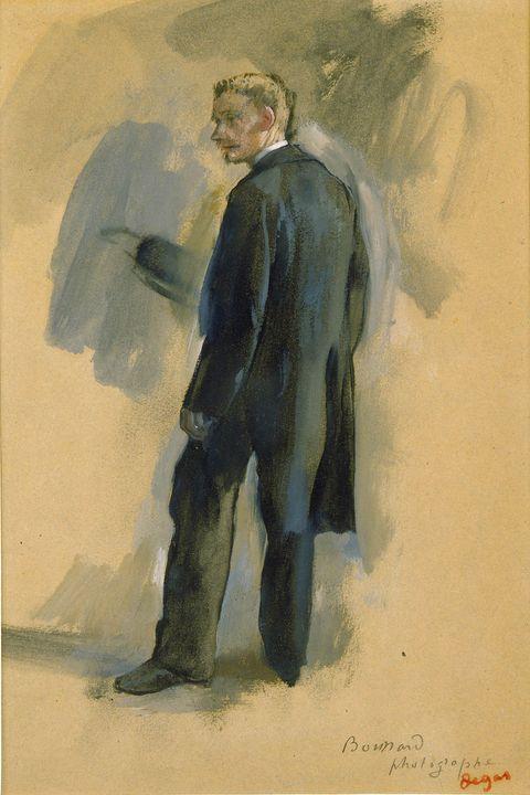 Edgar Degas~Boussard the Photographe - Old master