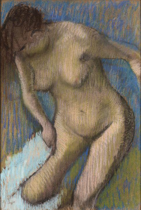 Edgar Degas~Dopo il bagno - Old master