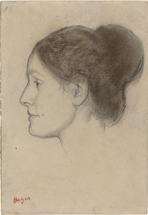 Edgar Degas~Hortense Valpinçon - Old master