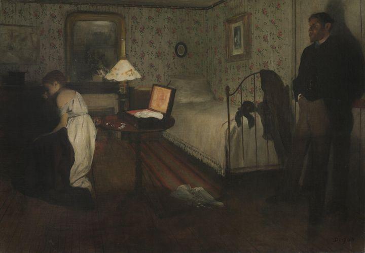 Edgar Degas~Interior - Old master