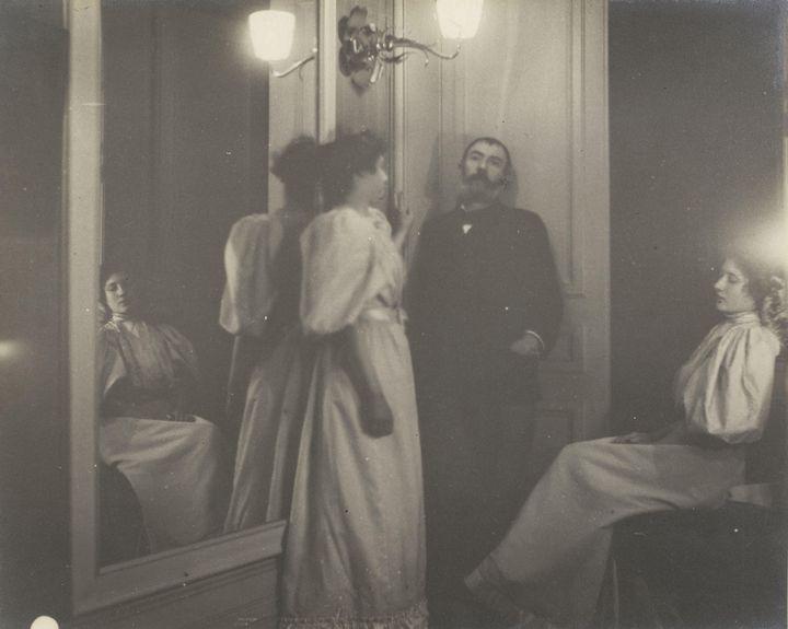 Edgar Degas~Portrait of Henry Leroll - Old master