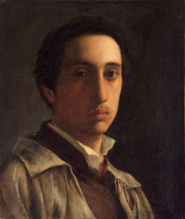 Edgar Degas~Self-Portrait - Old master