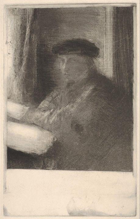 Edgar Degas~The Engraver Joseph Tour - Old master