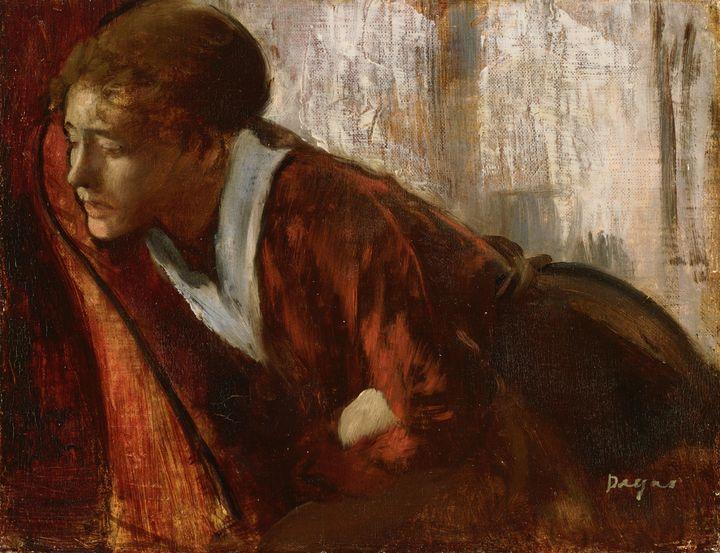 Edgar Dega~Melancholy - Old master
