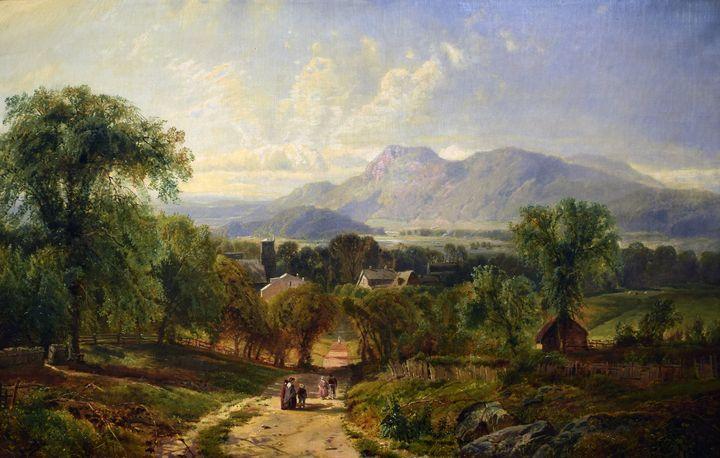 Edmund Darch Lewis~Landscape - Old master