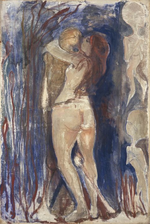Edvard Munch~Death and Life - Old master
