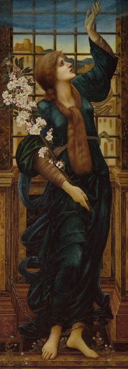 Edward Burne-Jones~Hope - Old master