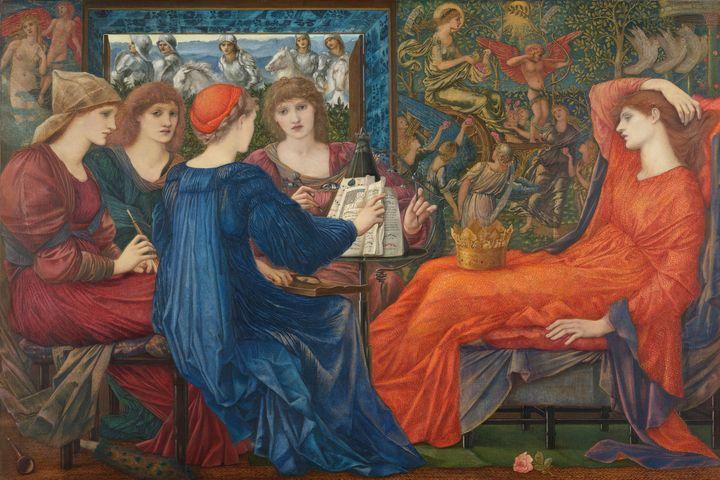 Edward Burne-Jones~Laus Veneris - Old master