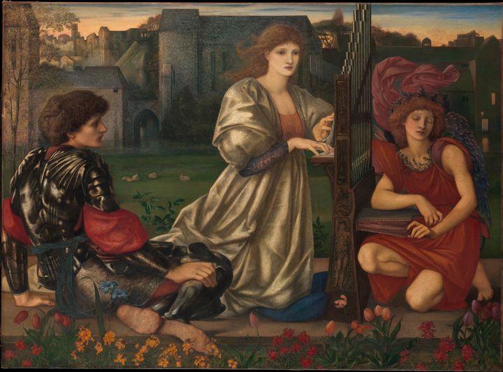 Edward Burne-Jones~The Love Song - Old master