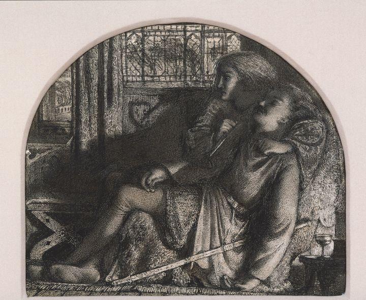 """Edward Burne-Jones~""""I rose up in the - Old master"""