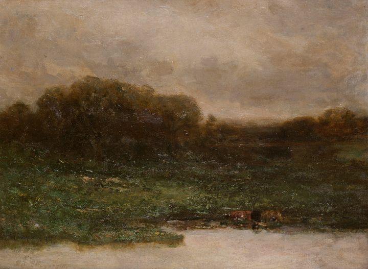 Edward Mitchell Bannister~Summer Twi - Old master