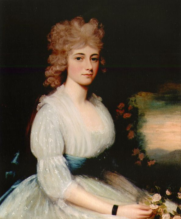 Edward Savage~Louisa Catherine Adams - Old master