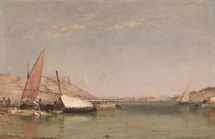 Edward William Cooke~Toulon () - Old master