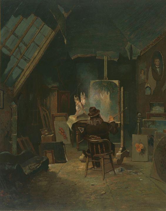 Edwin Deakin~Samuel Marsden Brookes - Old master
