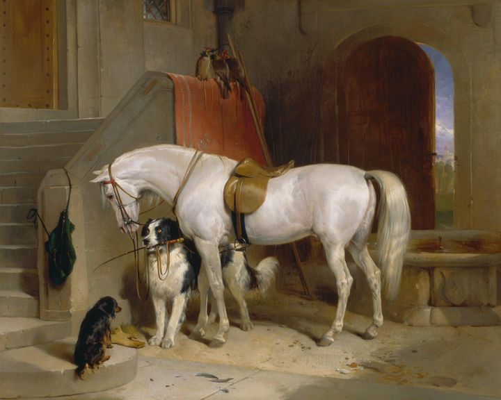 Edwin Landseer~Favourites, the Prope - Old master