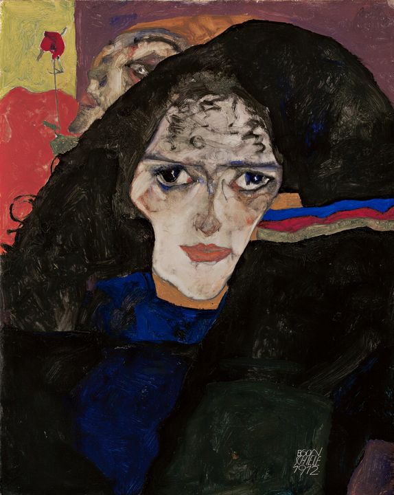 Egon Schiele~Mourning Woman - Old master