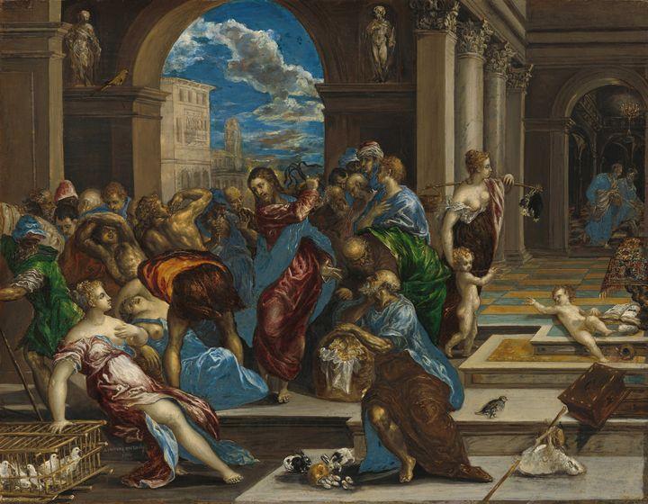 El Greco (Domenikos Theotokopoulos)~ - Old master