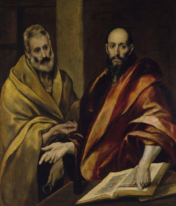 El Greco Saint~Peter and Sao Paulo - Old master