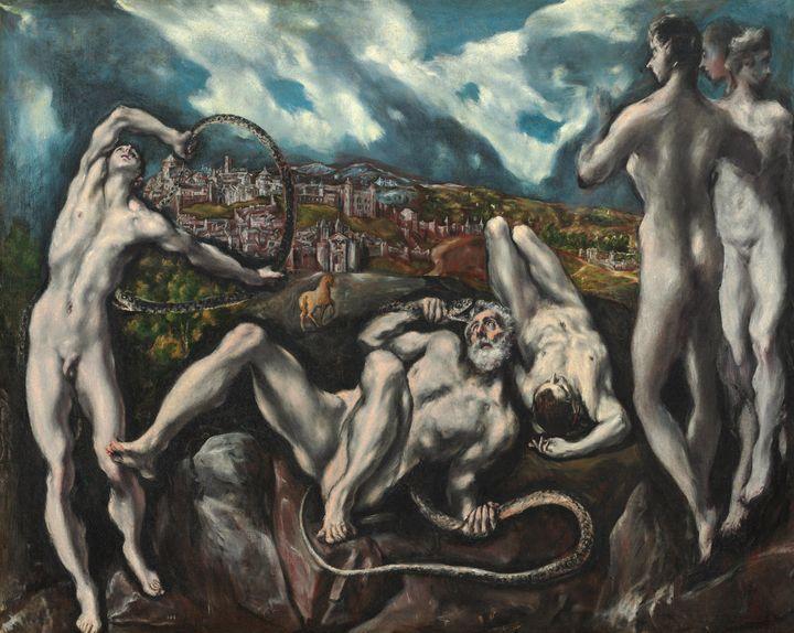 El Greco~Laocoön - Old master