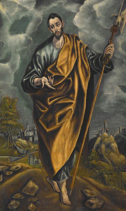 El Greco~St. Judas Thaddaeus or St. - Old master