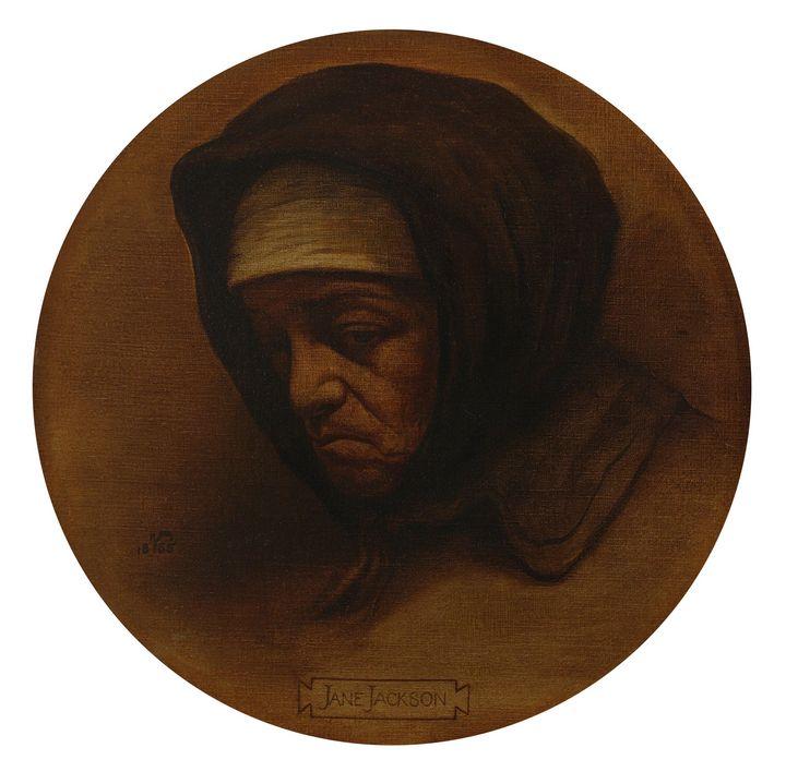 Elihu Vedder~Jane Jackson, Formerly - Old master
