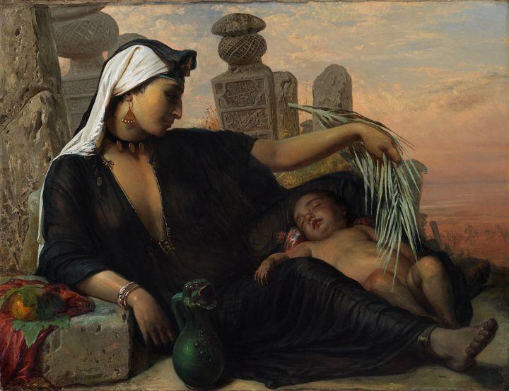 Elisabeth Jerichau-Baumann~An Egypti - Old master