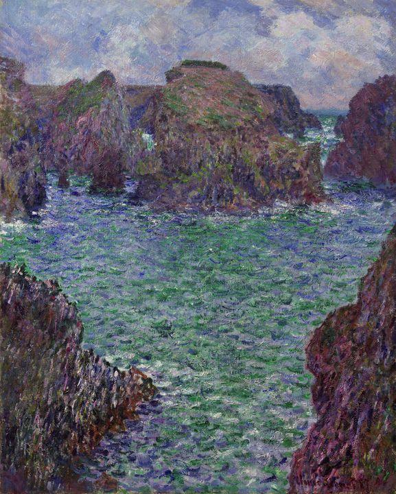 Claude Monet~Port-Goulphar, Belle-Îl - Old master
