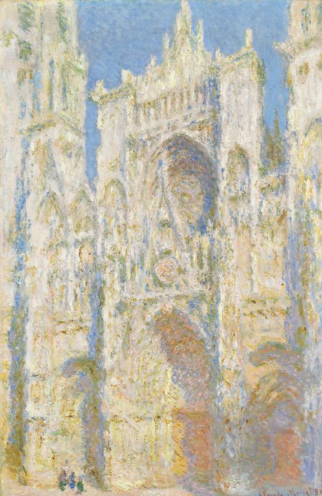 Claude Monet~Rouen Cathedral, West F - Old master