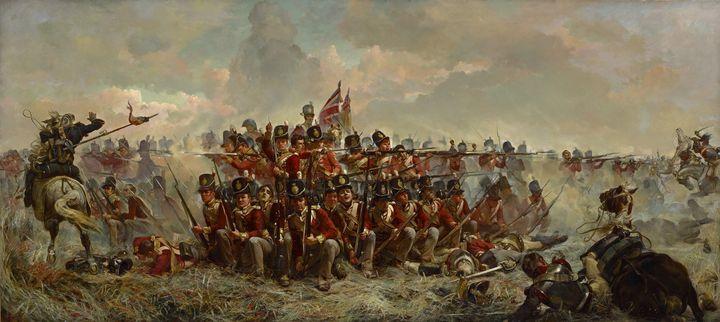 Elizabeth Thompson~The 28th Regiment - Old master
