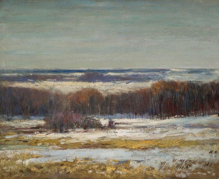 Ellen Axson Wilson~Winter Landscape - Old master