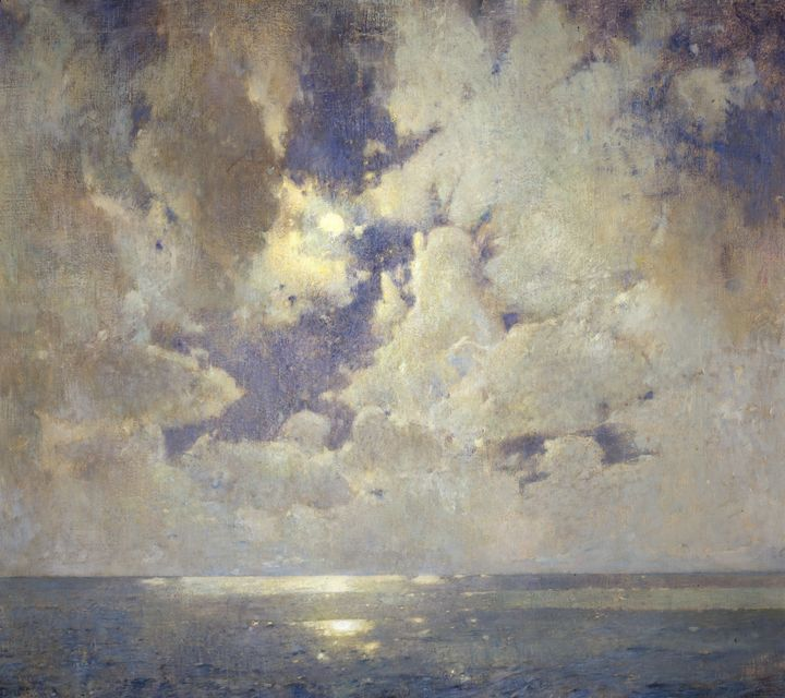 Emil Carlsen~The Heavens Are Telling - Old master