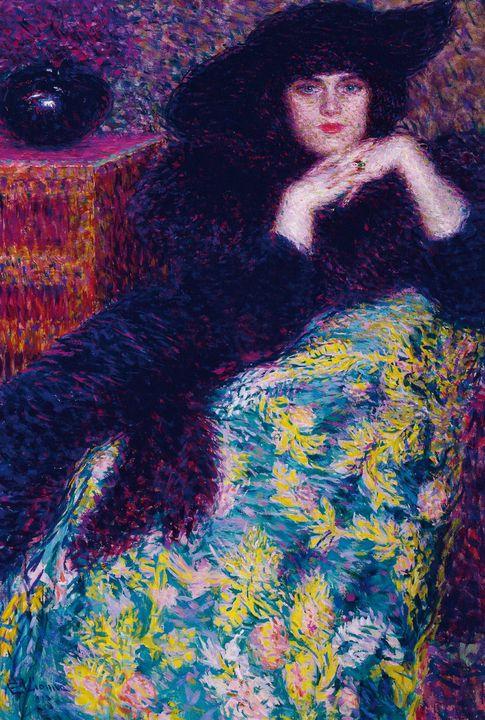 Enrico Lionne~Violette - Old master