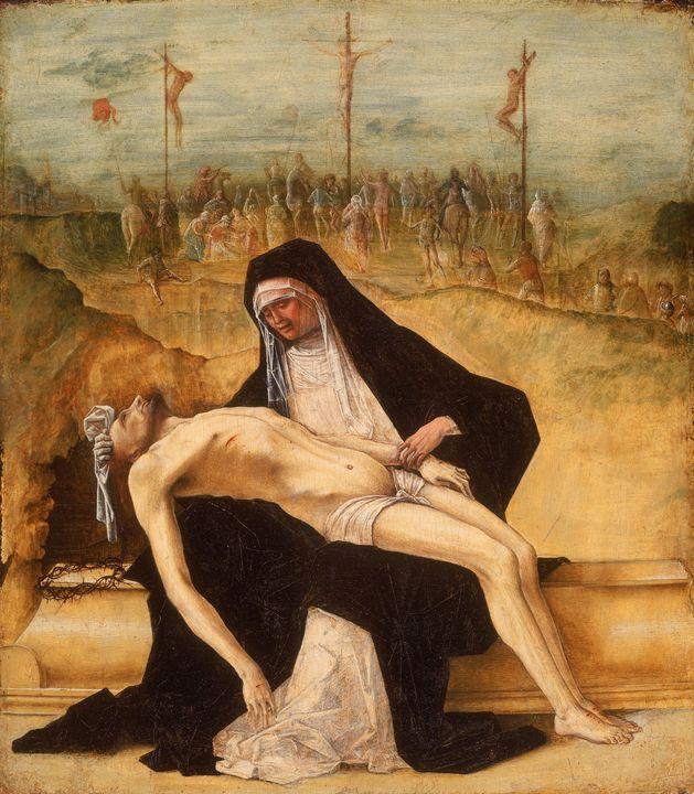 Ercole de' Roberti~Pietà - Old master