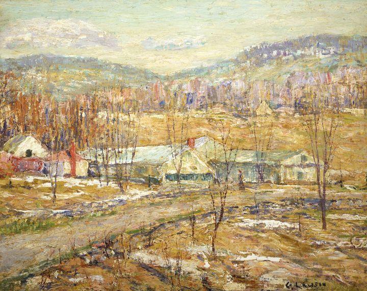 Ernest Lawson~End of Winter - Old master
