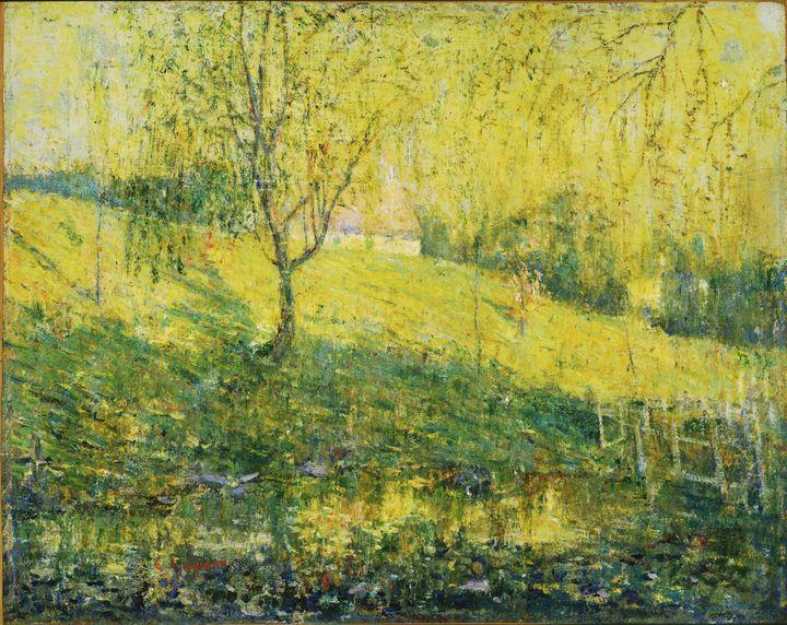 Ernest Lawson~Spring - Old master