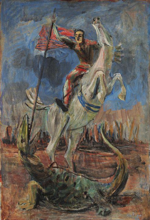 Ernesto de Fiori~São Jorge - Old master