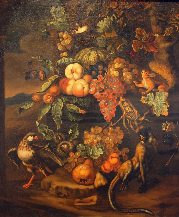 Ernst Stuven~Painting Still Life of - Old master