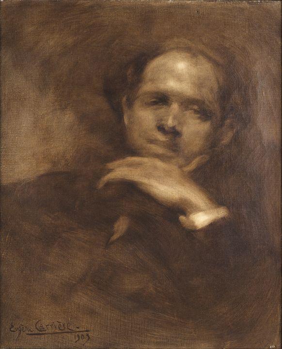 Eugène Carrière~Portrait of Pablo Ca - Old master