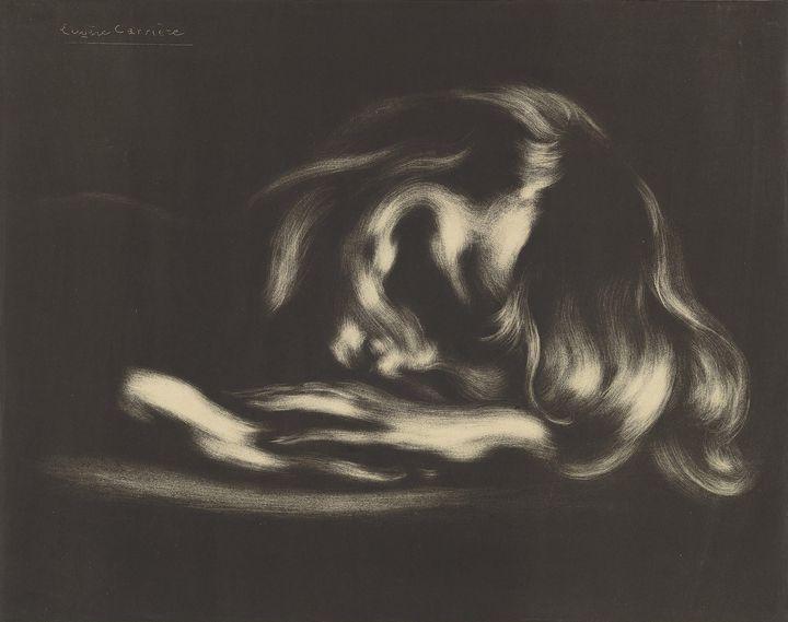 Eugène Carrière~Sleep - Old master