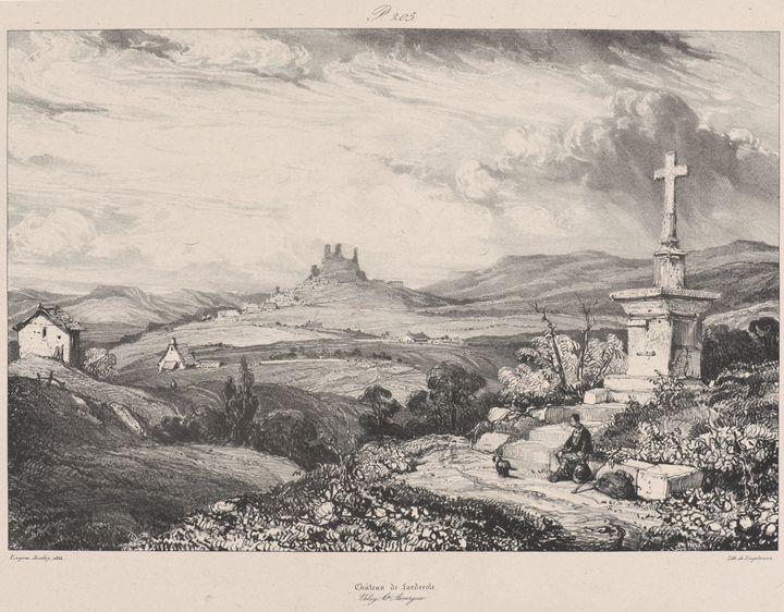 Eugène Isabey~Château de Larderole - Old master