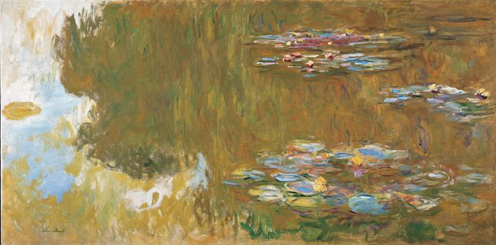 Claude Monet~The Water Lily Pond, c. - Old master