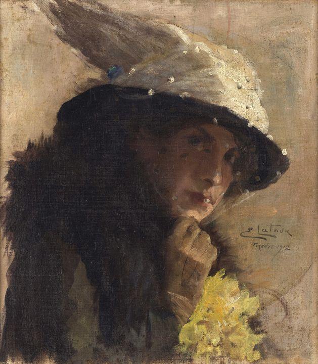Eugênio Latour~Bianca - Old master