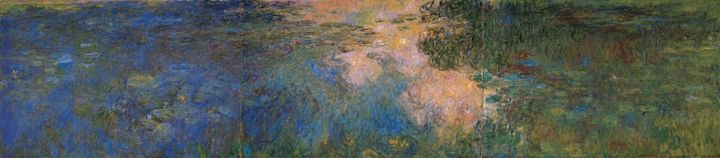 Claude Monet~The Water-lily Pond (2) - Old master