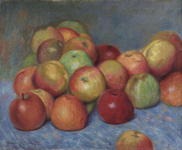 Federico Zandomeneghi~Apples - Old master